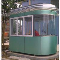 上海嘉传加工定制铝塑板圆岗亭 厂家直销