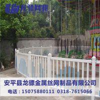 塑钢社区栏杆 别墅区草坪围栏 花园花坛护栏