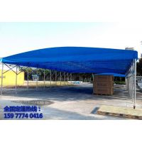 南宁推拉雨棚推拉帐篷活动伸缩篷加固施工帐篷大型仓库帐篷