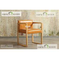 工厂直销昆山西餐厅桌椅 HR02餐桌椅订做 韩尔日式品牌