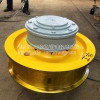专业锻65Mn材料车轮片 直径800单边车轮组 起重机吊机驱动轮子 亚重品牌