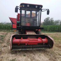 新款改装全自动玉米秸秆青储机 干湿秸秆青储收割机厂家