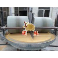 现林石磨 xlsm-100电动石碾子 稻谷碾米机