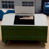 沧州绿美厂家批发勾臂式垃圾箱 专用景区公园街道垃圾箱