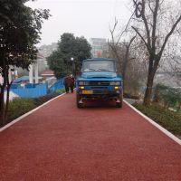 品石3cm彩色露骨料透水混凝土地坪系统 透水艺术路面材料