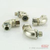 天津DRIFLEX厂家供应金属接头铜镀镍接头铜90度弯头