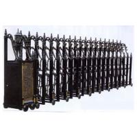 禅城铝合金伸缩门、安装高档铝合金伸缩门、订制铝合金伸缩门