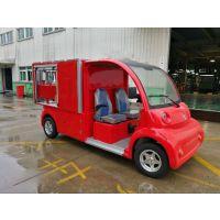 带水箱电动消防车,社区街道办驻扎消防车