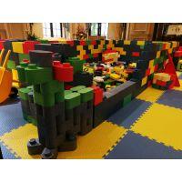 艾可玩具大型积木城堡乐园 厂家批发 儿童淘气堡乐园 韩国EPP积木