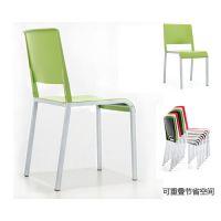 阅览椅 学生学习培训椅子 学校宿舍餐椅四脚多功能塑料椅子 众晟家具椅批发厂家