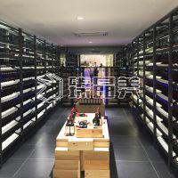 臻晶美 香槟金不锈钢恒温酒柜 私人高端定制 厂家直供 经久耐用