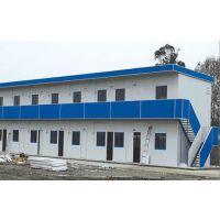 岩棉板赤峰活动房厂家 工地用拆装式 祈虹彩钢板房