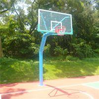 广州高校标准篮球架高度是多少 中山柏克体育用品厂家专业生产各种款式篮球架