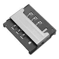 东莞 SOFNG SIM-009 尺寸:15.9mm*13.3mm*2.3mm SIM卡连接器