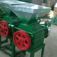 新型多功能电动豆扁机 粮食加工设备挤扁机 小型麦类压扁机价格