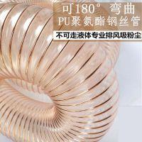供应PU钢丝平滑管,TPU塑筋螺旋增强软管,透明钢丝管