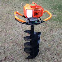 螺旋挖坑机 汽油挖坑机 润丰