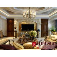 宝宇天邑澜山宫殿式设计欧式风格案例-哈尔滨红枫叶装饰