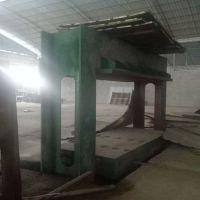 9成新 刑工产4*8尺内空1.4米二手木工冷压机出售