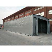 宁波余姚市独立柱雨篷设计 盒式户外遮阳蓬 大型推拉遮阳雨棚布