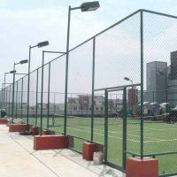 镀锌 平纹编织 绿色 本色北京篮球场围网多少钱 篮球场地围网施工安装价格 体育场围网多少钱一米