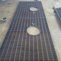 四川钿汇鑫品牌热镀锌钢格板Q235异形钢格板污水处理厂用复合型钢格板电厂用钢踏步板