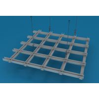 广州德普龙塔型铝合金格栅天花吊顶系统厂家供应