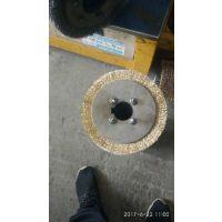 供应德国品质地板抛光耐高温耐酸金属抛光除锈木材做旧 板面清洗木地板行业磨料丝平型刷辊外径200mm