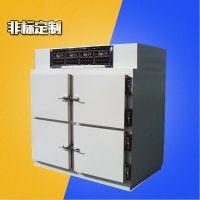 高精度不锈钢LED四门烘箱 电热设备超温保护工业LED烤箱 高温干燥机 佳兴成厂家非标定制