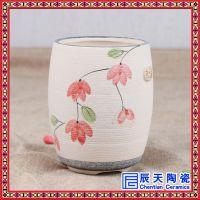 景德镇产陶瓷花盆批发 个性造型白瓷花盆