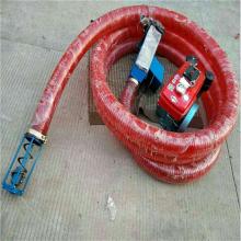 现场加工软管吸粮机 装车装袋抽粮机 邦腾多功能送料机