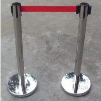 沈阳不锈钢一米围栏 伸缩带栏杆 银行柱 活动专用隔离带厂家