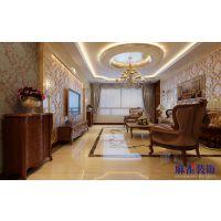 盛和世纪120平方米-哈尔滨麻雀装饰-欧式装修风格