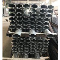 南京铝合金生厂商可定制各种工业铝型材 轨道交通异形管材精加工