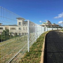 搅拌站隔离网 钢丝网护栏 惠州小区防护网厂家 工业园外围护栏现货