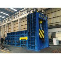 江苏大型龙门剪的生产厂家,圣博牌630吨带料箱重废剪优惠销售