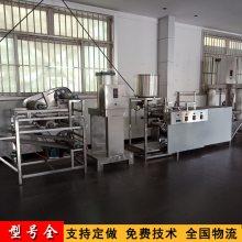 辽宁朝阳小型全自动干豆腐皮机生产视频 新式仿手工豆付皮机多少钱