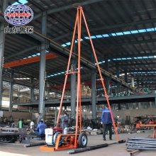 砂金矿工程取样回转式钻机山东鲁探SH302A勘测钻探机