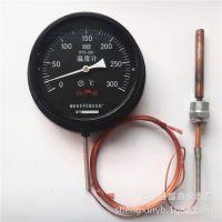 现货供应 山东红旗牌WTQ-280压力式温度计探头温度计