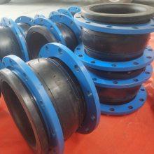 贵州化工衬四氟乙烯耐腐蚀橡胶软接头DN450MM橡胶减震器质量领先