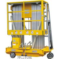 厂家生产铝合金单双柱升降机三柱简易液压升降平台移动式升降台电动云梯