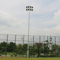 中山学校操场高杆灯杆 12米足球场照明灯杆 柏克体育场馆照明系列