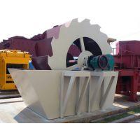 中威轮式洗沙机砂石厂水轮洗沙筛沙设备搅拌站环保型水力选矿设备厂家直销可定制