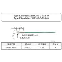 E型A-211E-00-0-TC1-W日本安立静止表面温度传感器-50to300℃