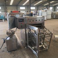 50型烟熏炉 烤鸡烟熏机器 红肠腊肠烟熏设备科力厂家直销