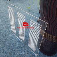 亚克力配件精密开孔 亚克力板精密切割 塑料板精密加工厂