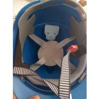金淼牌 ABS塑料材质 蓝色报警器安全帽价格 金淼电力生产