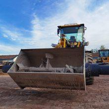 铲车搅拌斗小型铲车加装搅拌机多功能铲车