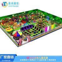 厂家直销森林淘气堡儿童乐园设备 百万海洋球池室内儿童亲子乐园