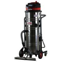 厂房仓库大功率工业吸尘器威德尔WX-3610P前置推吸式